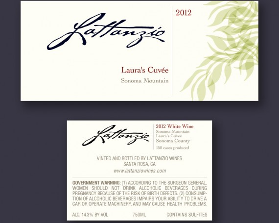 Lattanzio Wines Labels